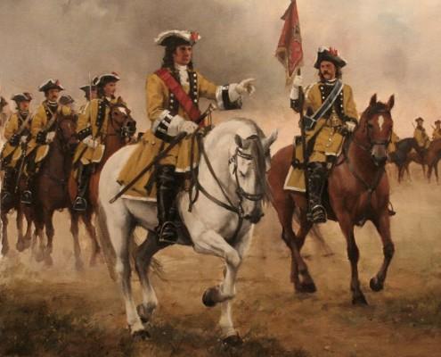Conde de Pezuela Regimiento Lusitania - Agusto Ferrer Dalmau
