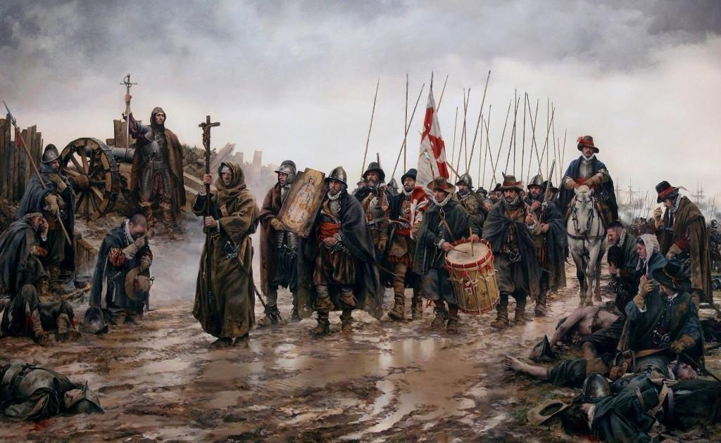 La Batalla de Empel, el cuadro de Ferrer-Dalmau que rinde tributo a los Tercios