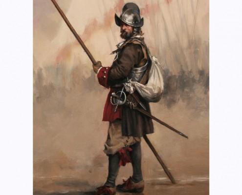 Piquero del 2º Tercio de Asturias - Agusto Ferrer Dalmau
