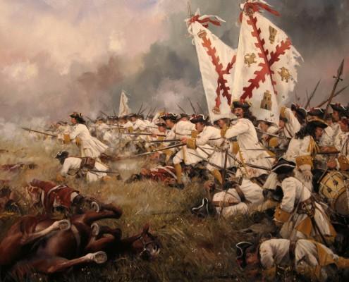 Regimiento Asturias. Sangre Española