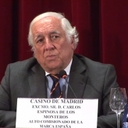 Carlos Espinosa agradece a Jesús A Rojo la publicación de Cuando éramos invencibles