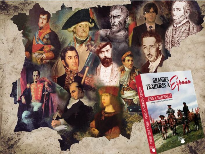"""Jesús A. Rojo, autor de """"Grandes traidores a España"""", explica cómo la memoria histórica ha convertido a """"judas"""" en héroes."""