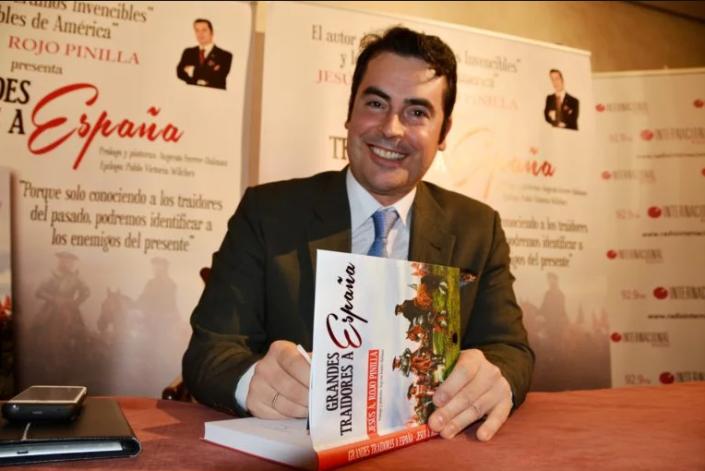 "Jesús A. Rojo, autor de Grandes traidores a España"""